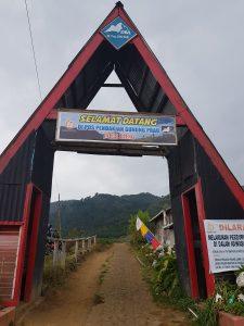 Basecamp Gunung Prau jalur Dieng